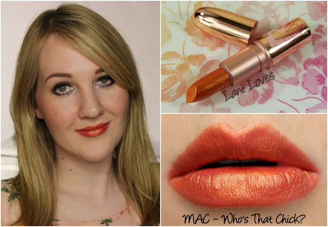 MAC Who's That Chick? lipstick swatch