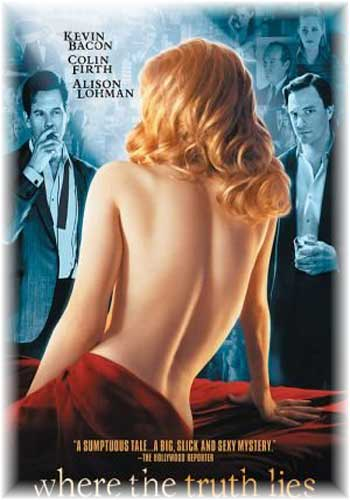 18+ Where the Truth Lies 2005 UNRATED BluRay 720p 480p Poster