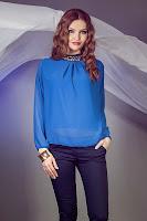 Bluza Savina Albastra
