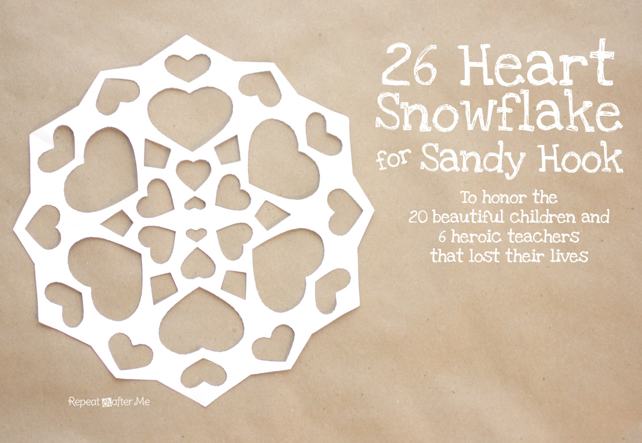 26 Heart Snowflake For Project Snowflake Repeat Crafter Me