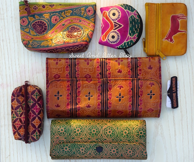 Handmade Leather Pouch Bags Wallets Kolkata