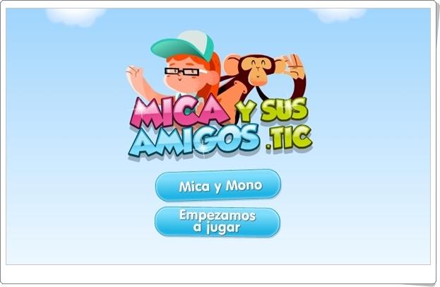 """""""Mica y sus amigos. TIC"""" (Juegos multidisciplinares de Infantil)"""