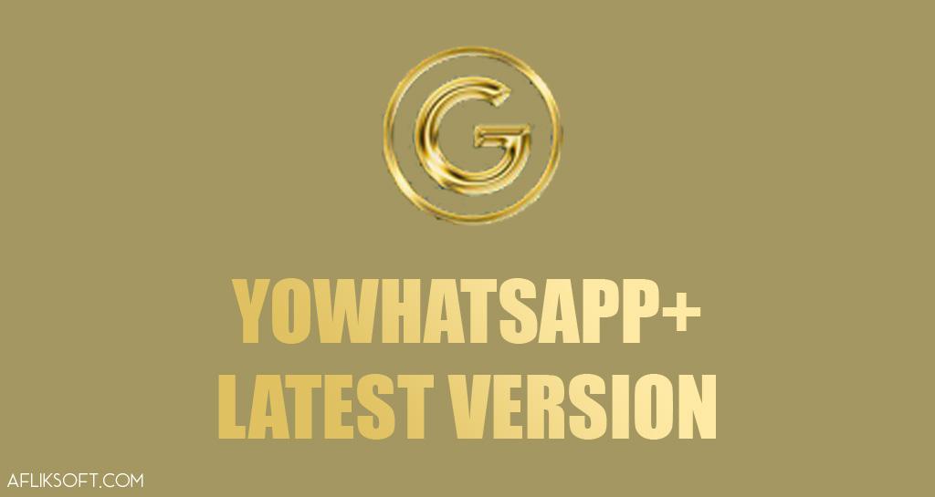 YoWhatsApp Pro Gold Edition