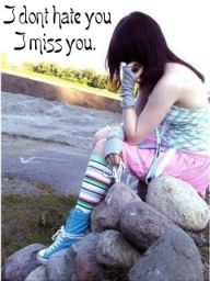 i miss you sad girl wallpapers