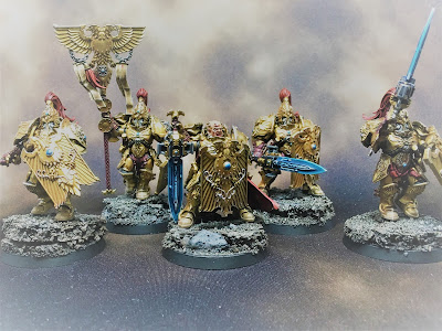 WIP Adeptus Custodes or Custodian Guard title shot