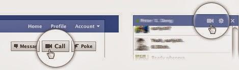 Cara Video Call Facebook