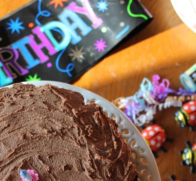 Lidl Chocolate Birthday Cake