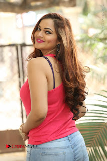 Tollywood Actress Ashwini Latest Stills in Ripped Jeans  0017.JPG