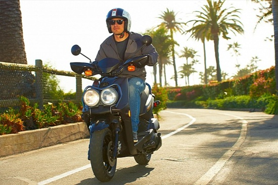 2013 Yamaha Zuma 125 Scooter Review | New Motorcycle Picture