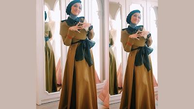 Model baju gamis Chikita Fawzi