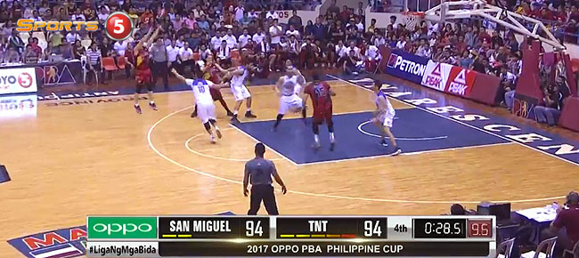 HIGHLIGHTS: San Miguel vs. TNT (VIDEO) January 28