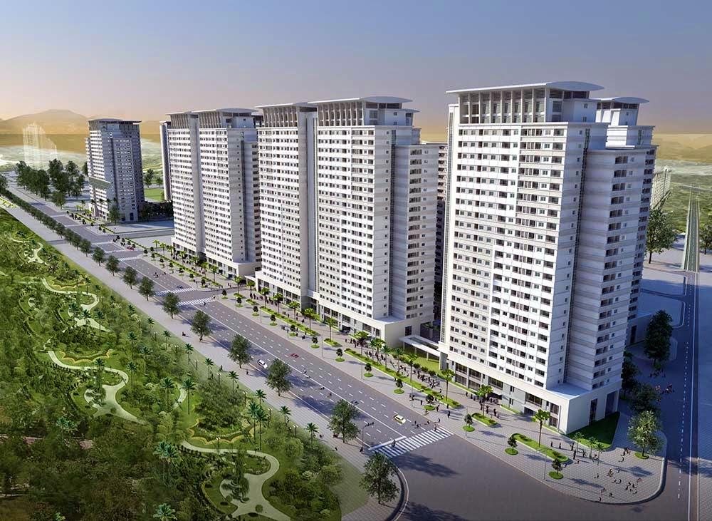 Phối cảnh dự án chung cư Park View Residence Dương Nội