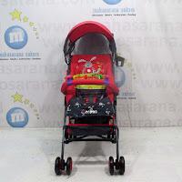 Kereta Bayi Pliko PK107N Techno Buggy Red