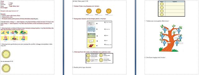 Download Soal Tematik Kelas 2 SD
