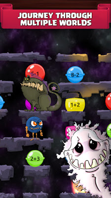 Game Monster Math Game Apk