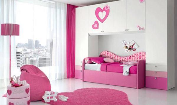 Desain Kamar Tidur Bertema Cinta dan Kasih Sayang