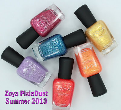 Zoya Summer PixieDust Collection Swatches & Review
