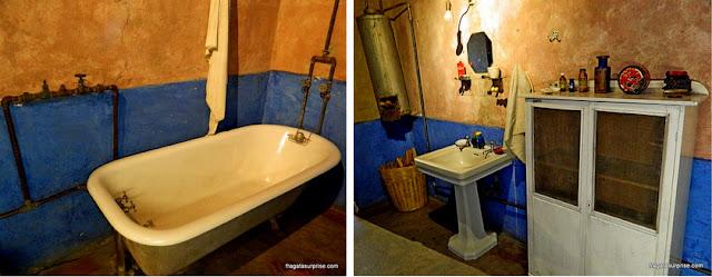 Banheiro da casa de Trotski, Museu Casa de Leon Trotski, Cidade do México