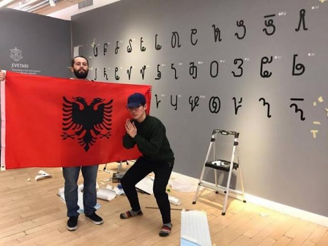 Edon Muhaxheri 'revives' first Albanian alphabet of Naum Veqilharxhi