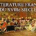 كتاب الأدب الشعبي الفرنسية في القرن الثامن عشر LA LITTÉRATURE FRANÇAISE DU XVIIIe SIÈCLE