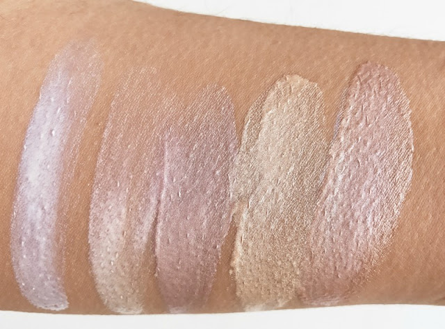 Barry M Liquid Chrome Highlighter Drops Review Swatch Swatches