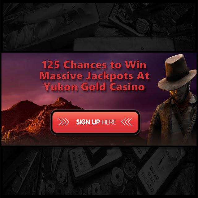 Yukon Gold Casino Bonus - 125 Spins on First Deposit