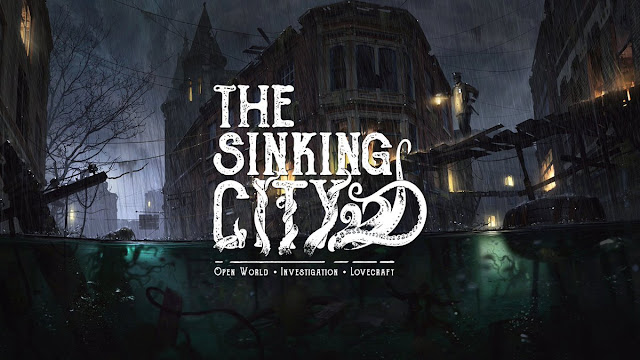 """""""The Sinking City"""" Game phiêu lưu khám phá kỳ ảo 2019"""