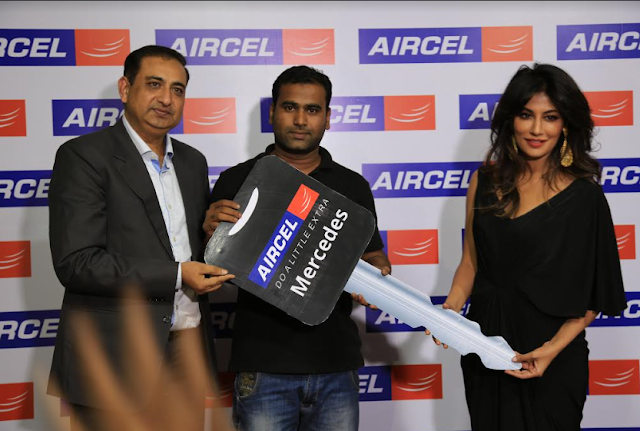 Aircel customer wins Mercedes B-Class in Aircel iPlayiWin contest in Odisha