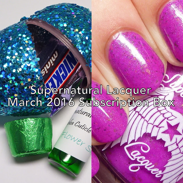 Supernatural Lacquer March 2016 Subscription Box