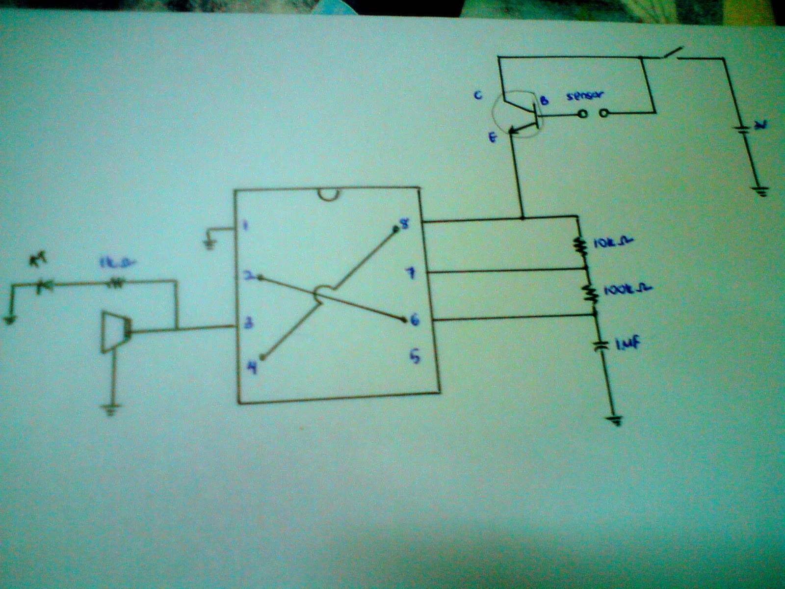 Figure 1 Circuit Diagram For An Hid Lamp Controller Using The