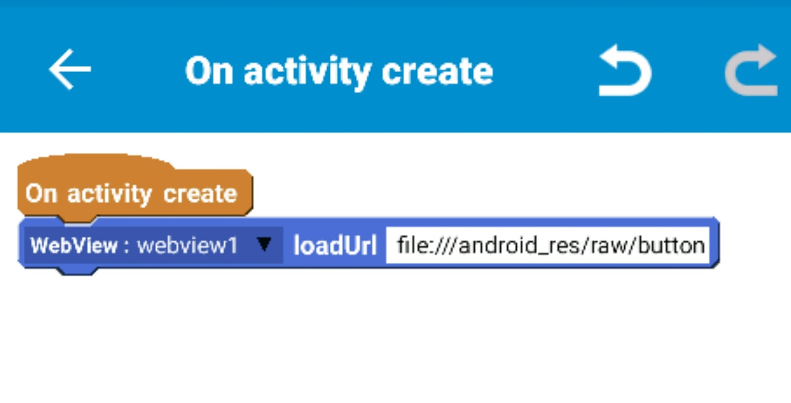 How to insert a HTML file into a Sketchware app