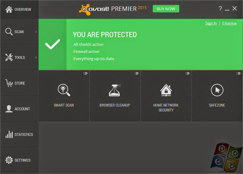 Download Antivirus Avast! Premier V.10 2015 Full Version