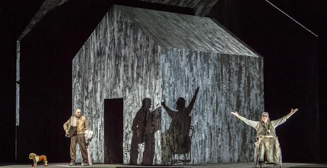 György Kurtág & Samuel Beckett: Fin de partie - La Scala, Milan (Photo Walz Ruth)