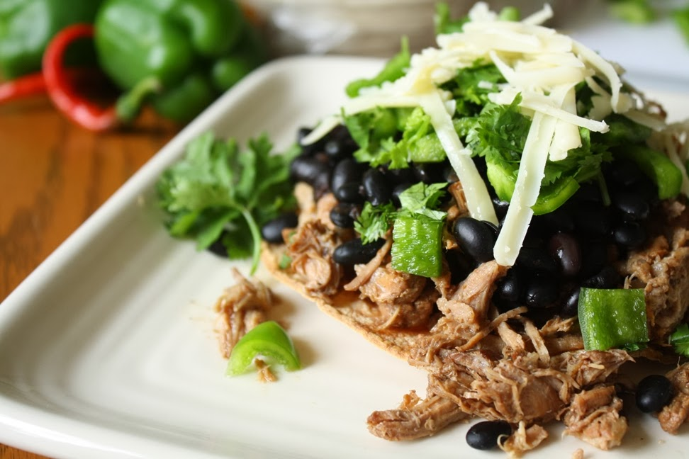 Beer Braised Carnitas Tostadas