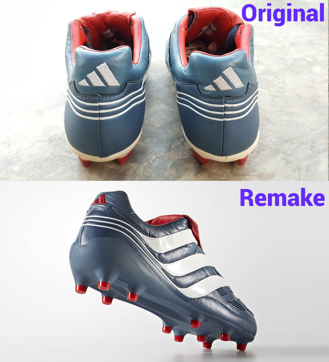 hot sale online 4bdff 7ad83 Will Are you happy with the remake of the Adidas Predator Precision Comment  below, and check Adidas Predator Precision - 2017 Remake vs 2000 ...