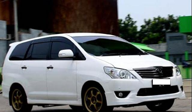 Modifikasi Mobil Innova terkeren