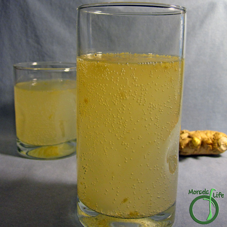 Morsels of Life - Ginger Beer - Brew some refreshingly clean tasting Ginger Beer right at home! No special equipment required.