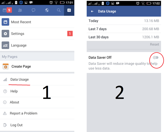 Cara Menghemat Kuota Internet Facebook