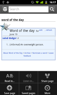 Wiktionary App for Android