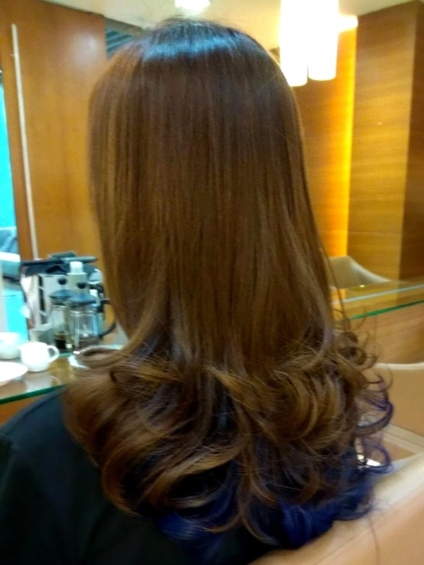 christmas mosche grand hyatt korean perm long curl
