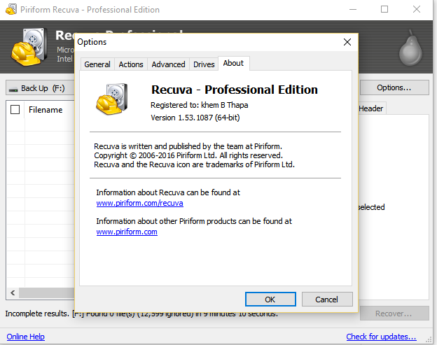 Recuva Pro all version Activation key 100% working -No download, no