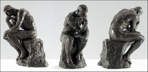 O Pensador (francês: Le Penseur), escultura de Auguste Rodin.