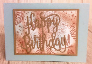 Retiform technique happy birthday zena kennedy independent stampin up demonstrator