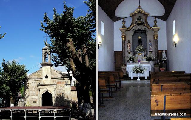 Capela de Jesus em O Porriño, na Rota Portuguesa do Caminho de Santiago