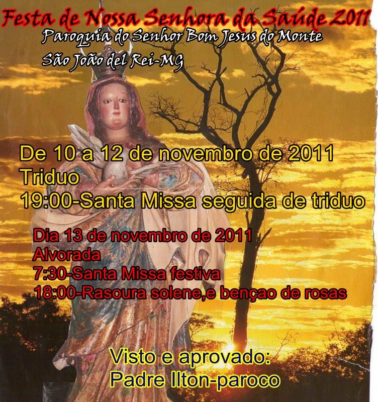 Paroquia Do Senhor Bom Jesus Do Monte 23 10 11