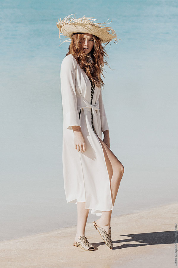 Moda primavera verano 2018 túnicas. Moda para mujer verano 2018.