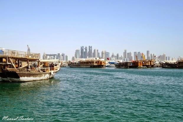 Doha, skyline