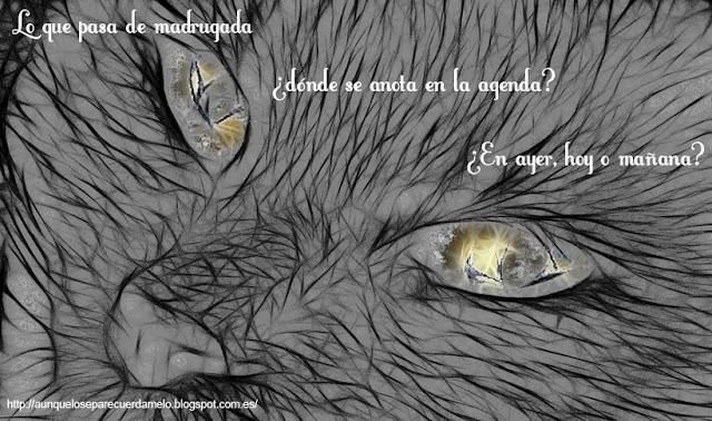 ilustracion a gatas por la vida con reflexion