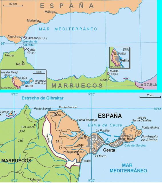 Perbatasan Spanyol – Maroko