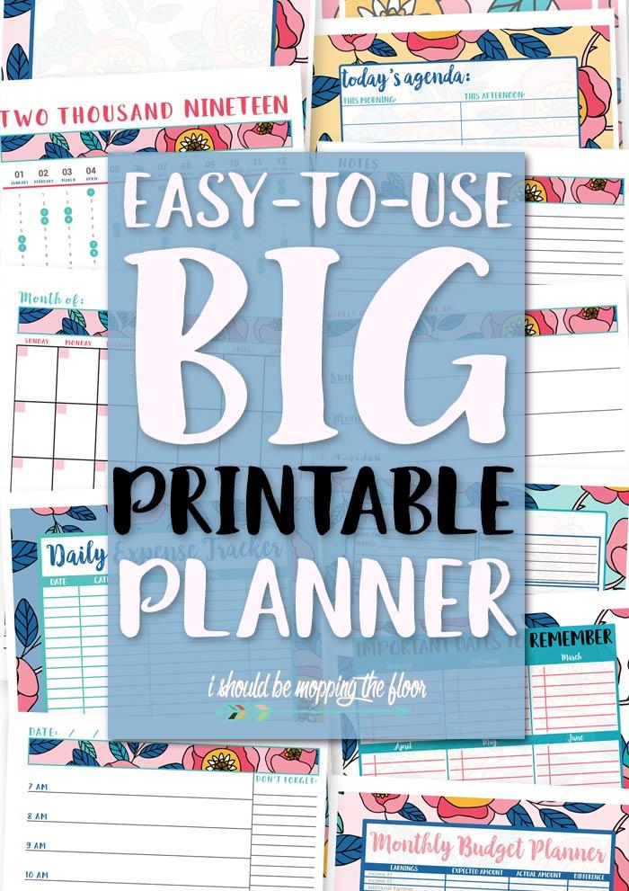 Easy Planner Printables